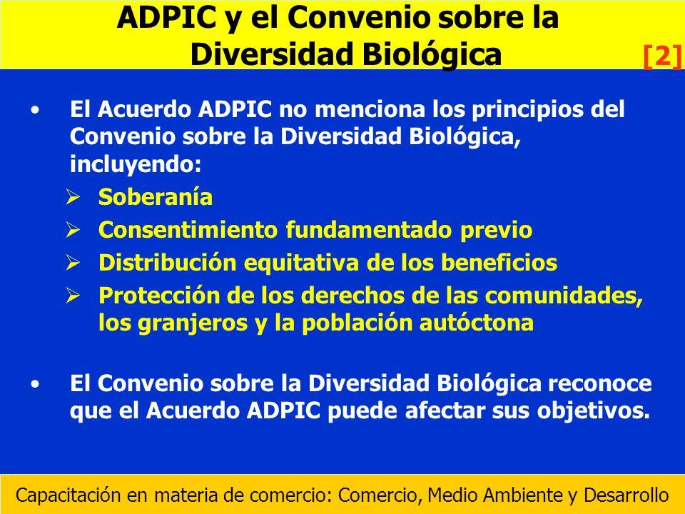 ADPIC y el Convenio sobre la Diversidad Biológica [2]